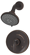 Symmons 5501-SBZ Elm Shower System