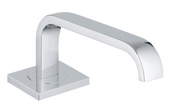 Grohe - 	13 150 000 15-inch Chrome Plated Horizontal Swing Spt