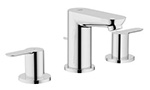 Grohe 20374000 - Edge 2hdl basin 3-hole US