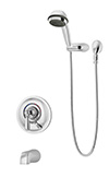 Symmons S-4704 Allura Tub/Hand Shower Unit