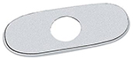 Grohe - 	07 551 000 6-inch  Chrome Plated Euro Escutcheon