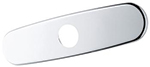 Grohe - 	07 552 000 10-inch  Chrome Plated Euro Escutcheon
