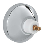 Grohe 08 296 000 - Chrome Plated Volume Control Escutcheon Plate with Nut