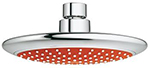 Grohe 114628 - Rainshower Solo Red 2.5gpm Head Shower