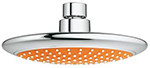 Grohe 114629 - Rainshower Solo Orange 2.5gpm Head Shower