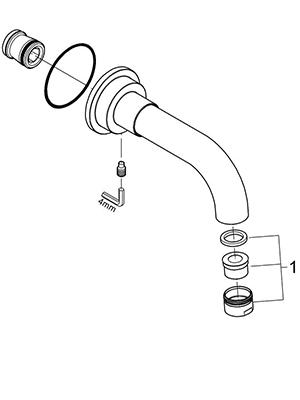 Grohe 13164EN0 - Parts Breakdown