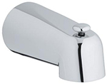 Grohe - 	13 611 000 5-inch Brass Diverter Tub Spout
