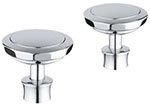 Grohe 18086000 - Kensington Round Hdls Pair