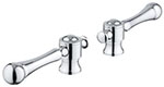 Grohe 18173000 - Bridgeford Lever Hdls (Pair)