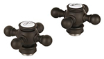 Grohe 18733ZB0 - Geneva Cross Hdls Pair