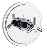 Grohe - 19 169 000 Chrome Plated Thermostatic Trim