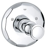 Grohe 19265000 - Kensington THM Trim w/ Round Handle