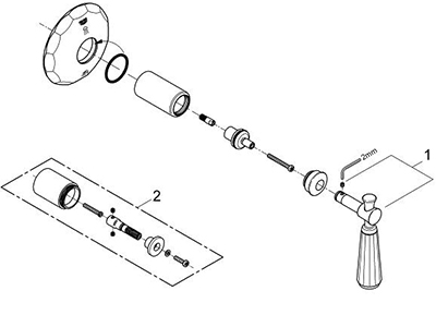 Grohe 19272EN0 - Parts Breakdown