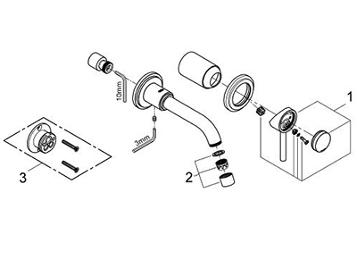 Grohe 19291EN1 - Parts Breakdown