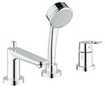 Grohe 19592000 - BauLoop OHM trim bath 3-h + show.set US