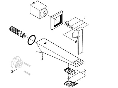 Grohe 19784000 - Parts Breakdown