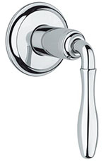 Grohe - 	19 828 000 Chrome Plated Vol Control Trim