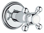 Grohe - 	19 829 000 Chrome Plated Vol Control Trim