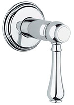 Grohe - 	19 837 000 Chrome Plated Vol Control Trim