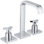 Grohe 20148000 - Allure 3-hole lavatory wideset
