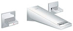Grohe 20347000 - Allure Brilliant 2hdl basin 3-h wall US