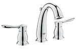 Grohe 20390000 - Parkfield 2hdl basin 3-hole US
