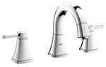 Grohe 20418000 - Grandera 2hdl basin 3-hole low spout US