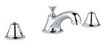 Grohe - 	20 800 000 Chrome Plated Wideset Lavatory Faucet without Handles