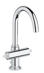 Grohe - 	21 027 000 Chrome Plated Centerset Faucet without Handles