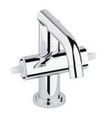 Grohe - 	21 031 000 Chrome Plated Centerset Faucet without Handles