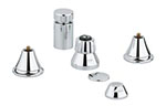 Grohe - 	24 020 000 Chrome Plated Wideset Bidet without Handles