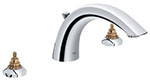 Grohe 25071000 - Arden 3-hole Roman Tub Filler