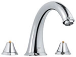 Grohe 25074000 - Kensington 3-Hole Roman Tub Filler