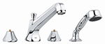 Grohe 25077000 - Somerset 4-Hole Roman Tub Filler