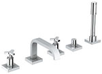 Grohe 25083000 - Allure 5-hole roman tub filler