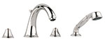 Grohe 25506BE0 - Geneva 4-Hole Bath combination