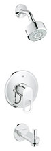 Grohe 26017000 - BauLoop OHM trimset bath + show.set US