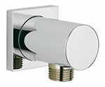 Grohe 26184000 Rainshower wall union NPT US (Chrome)