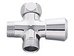 Grohe - 	28 036 000 Chrome Plated Shower Arm Div
