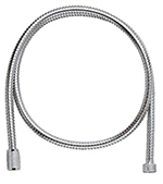 Grohe - 	28 105 000 59-inch Chrome Plated Metal Hose