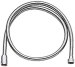 Grohe - 	28 143 000 59-inch  Chrome Plated Metal Hose