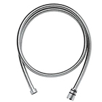 Grohe - 	28 417 000 59-inch-inch Chrome Plated Metal Shower Hose