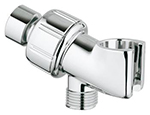 Grohe - 	28 418 000 Chrome Plated Shower Arm & HandShower Holder