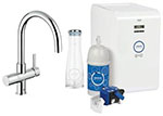 Grohe 31251000 - GROHE Blue C+S OHM sink high spout US