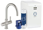 Grohe 31251DC1 GROHE Blue C+S OHM sink high spout US (Super Steel)