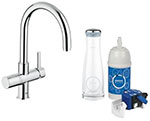 Grohe 31312000 - GROHE Blue Pure OHM sink swivel spout US