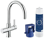 Grohe 31312001 GROHE Blue Pure OHM sink US (Chrome)