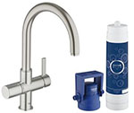 Grohe 31312DC1 GROHE Blue Pure OHM sink US (Super Steel)