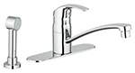Grohe 31352001 - Eurosmart w/ side spray (with escutcheon)