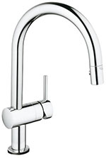 Grohe 31359000 - Minta Touch eltr. sink pull-out spray US